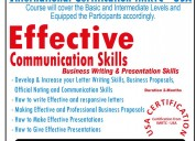 Effective communications presentation & speaking s