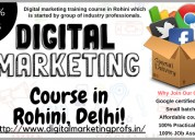 Digital marketing course rohini delhi