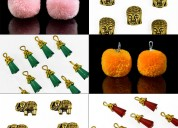 Charms for jewelry making and embellishments on ap