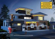 3d bungalow rendering & walkthrough services by 3d