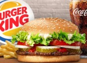 Delicious burger anytime anywhere with burger king