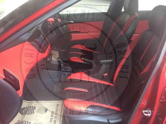 Wagon-R-Estilo Ritz Swift Baleno Car Leather Seat