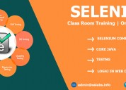 Selenium training in hyderabad with project