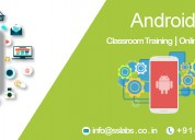 Android training in hyderabad with project