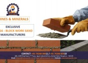 M sand manufacturers in bengaluru|m sand supplier