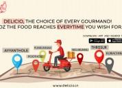 Delicio - food delivery service