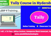 Tally course in hydeabad