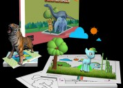 Scifikids-augmentedreality kit for kids arnimals
