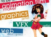 graphic design courses in kolkata, animation cours