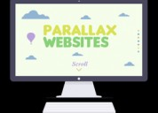 Parallax website development services