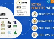Aws cloud managed & support services | pushfyi