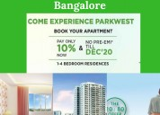 2 & 3 bhk flats in Yelahanka starting @ 44 lakhs