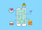 On-demand services mobile application development