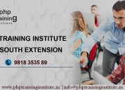 Php training institute in south extension