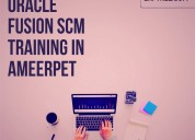 Find out free demo for oracle fusion scm training