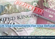Uk visa consultants in delhi on refusal