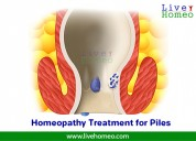 homeopathy treatment for piles