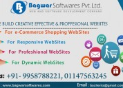 Make your creative website through us at cheapest
