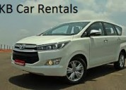 Crysta car for rent in bangalore  - 7 seater cabs