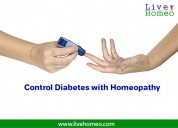 homeopathy treatment for diabetes