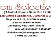 Pankaj khanna geologist - gem selections