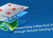 Researching coffee rust infestation through remote