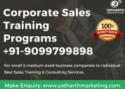 Top sales training company delhi - yatharth marketing solutions