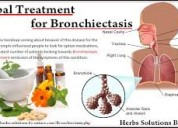 Herbal treatment for bronchiectasis