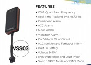 Anti-theft low cost vehicle gps tracker vss03