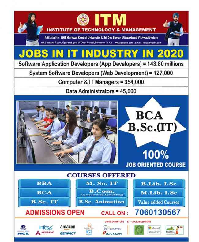 Best BBA,BCA colleges in Dehradun