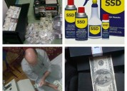 Ssd chemical solution for cleaning black currency