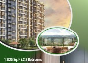 Ready to move  2,3 bhk flats sale in waked pune.