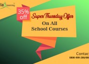 Offer on online offline nursery to 12th classes