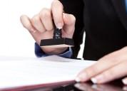 Trademark registration service provider