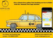 Uber like taxi app source code development