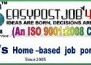 Online earning job