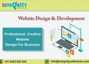 Integrity: web development, web design company, e-