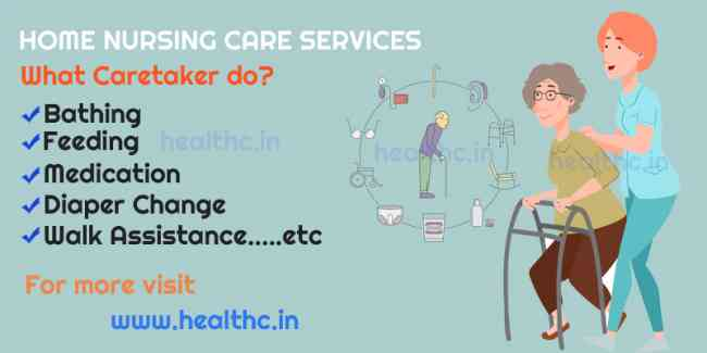 Home Nursing Care Services in Mumbai, Male and Fem