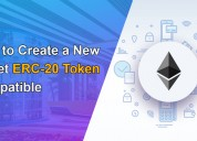 How to create a new wallet erc-20 token compatible