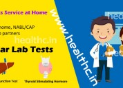 Home lab test sample collection service in pune
