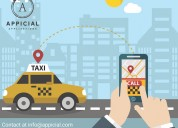 Uber like taxi app solution provider