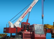 Satkartar rental for  cranes rentals in ahmedabad,