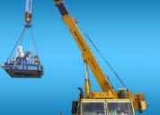Crane service provider in ahmedabad, gujarat, maha