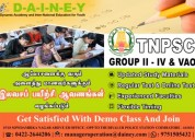 Tnpsc coaching classes at dainey education