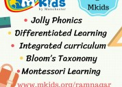 Mkids preschool-ramnagar, playschool, daycare,