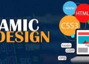 Dynamic website design services