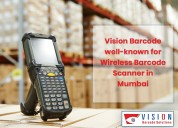 Wireless barcode scanner in mumbai- vision barcode