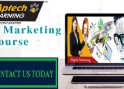 Top digital marketing training institute aptech ja