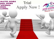 Full time / part time home based data entry jobs,
