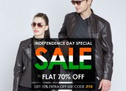 Independence sale : everyone knew about leather ja